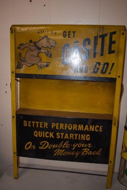 Vintage Casite Oil Store Display - 3