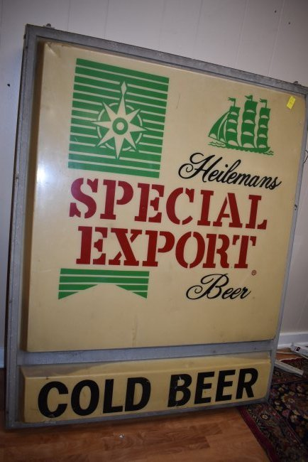 Large Special Export Beer 2-Sided Building Sign