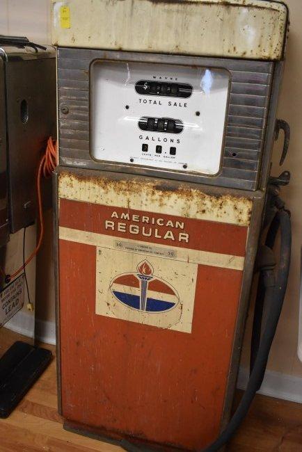 Vintage Amoco Wayne Gas Pump