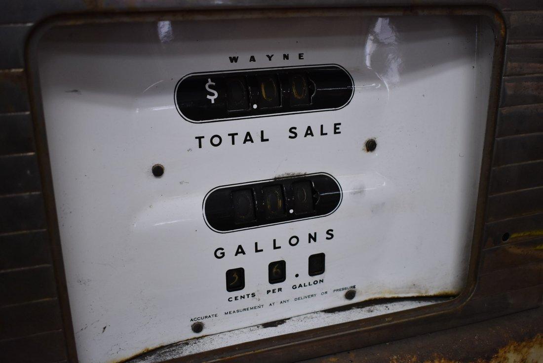 Vintage Amoco Wayne Gas Pump - 4