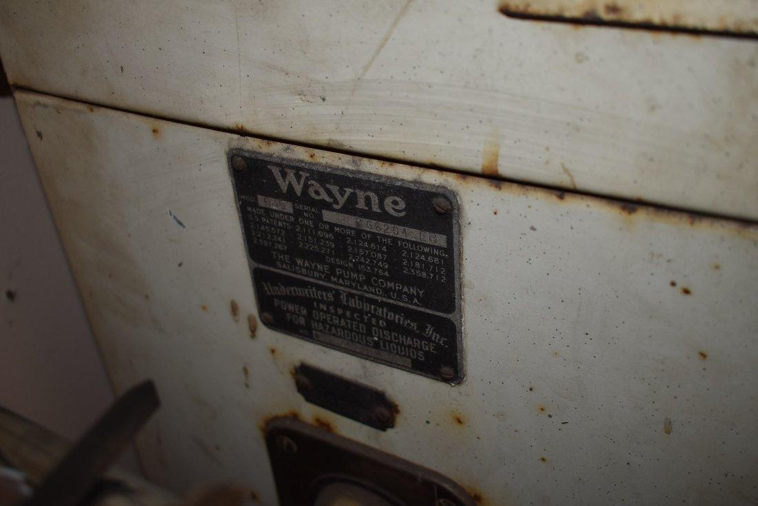 Vintage Amoco Wayne Gas Pump - 5