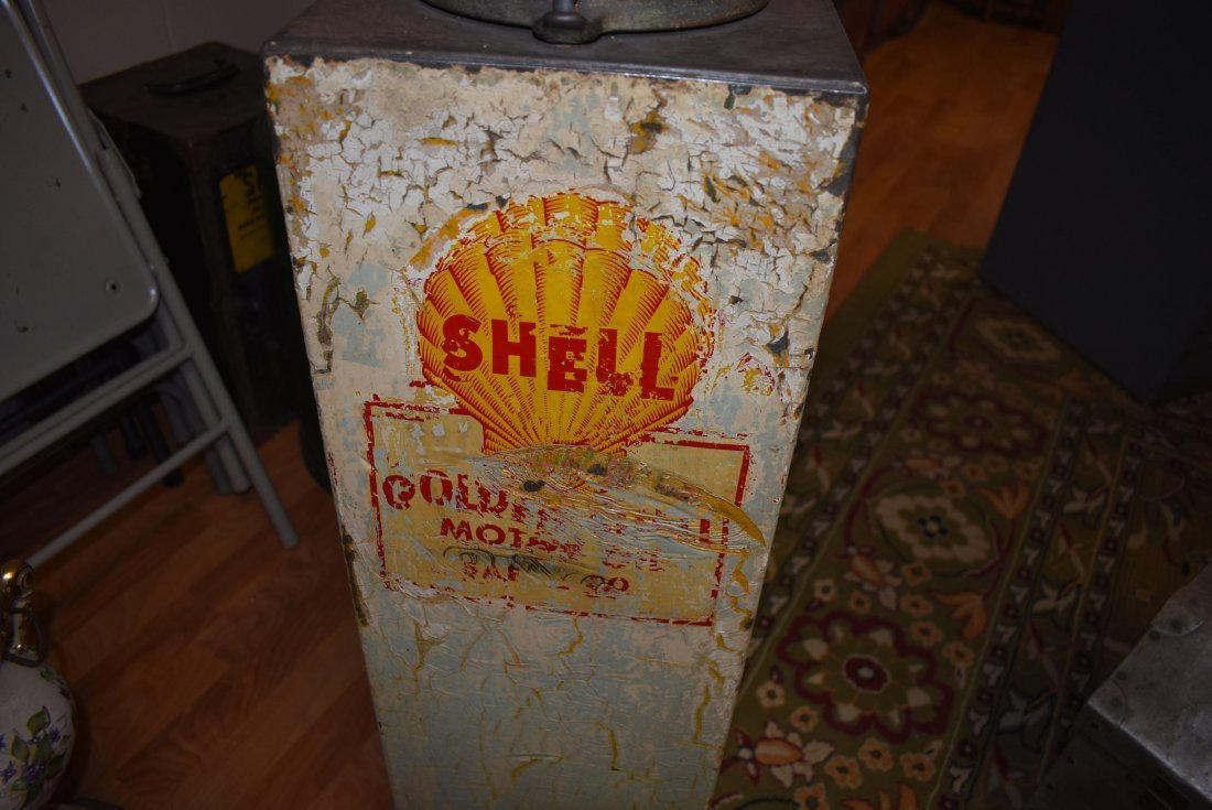 Vintage Shell Lubester Oil Pump - 2