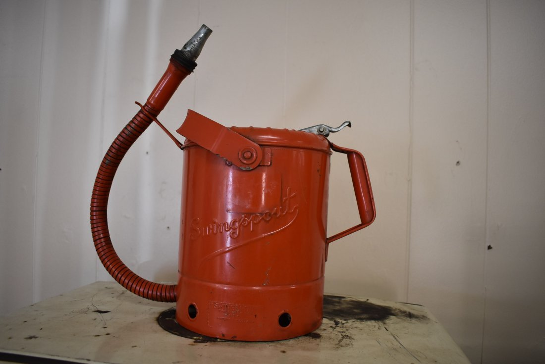 Vintage Swingsport Oil Can