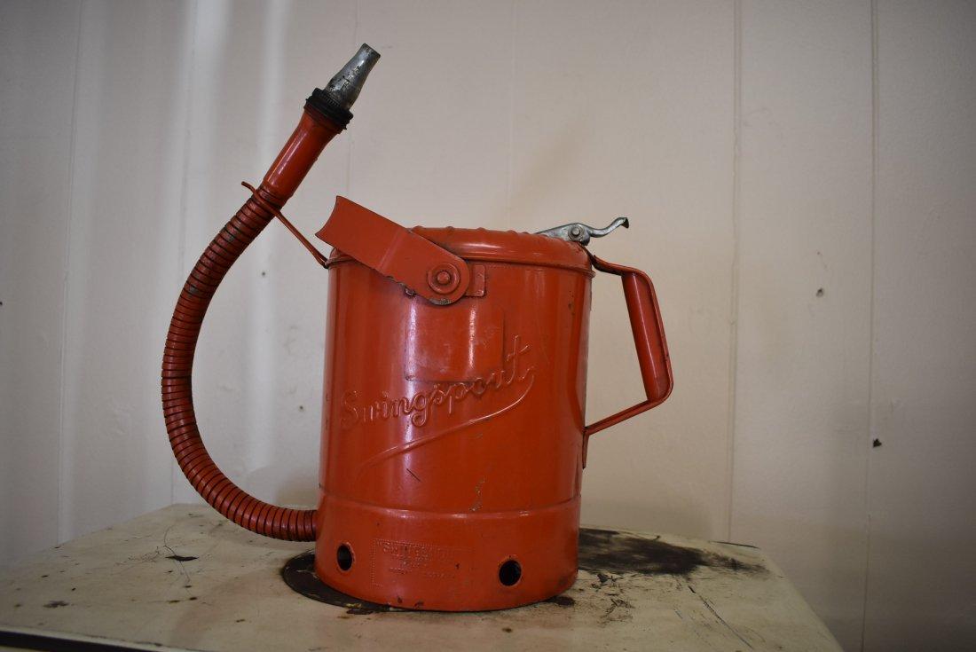 Vintage Swingsport Oil Can