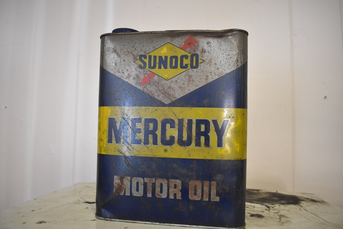 Vintage Sunoco Oil Can
