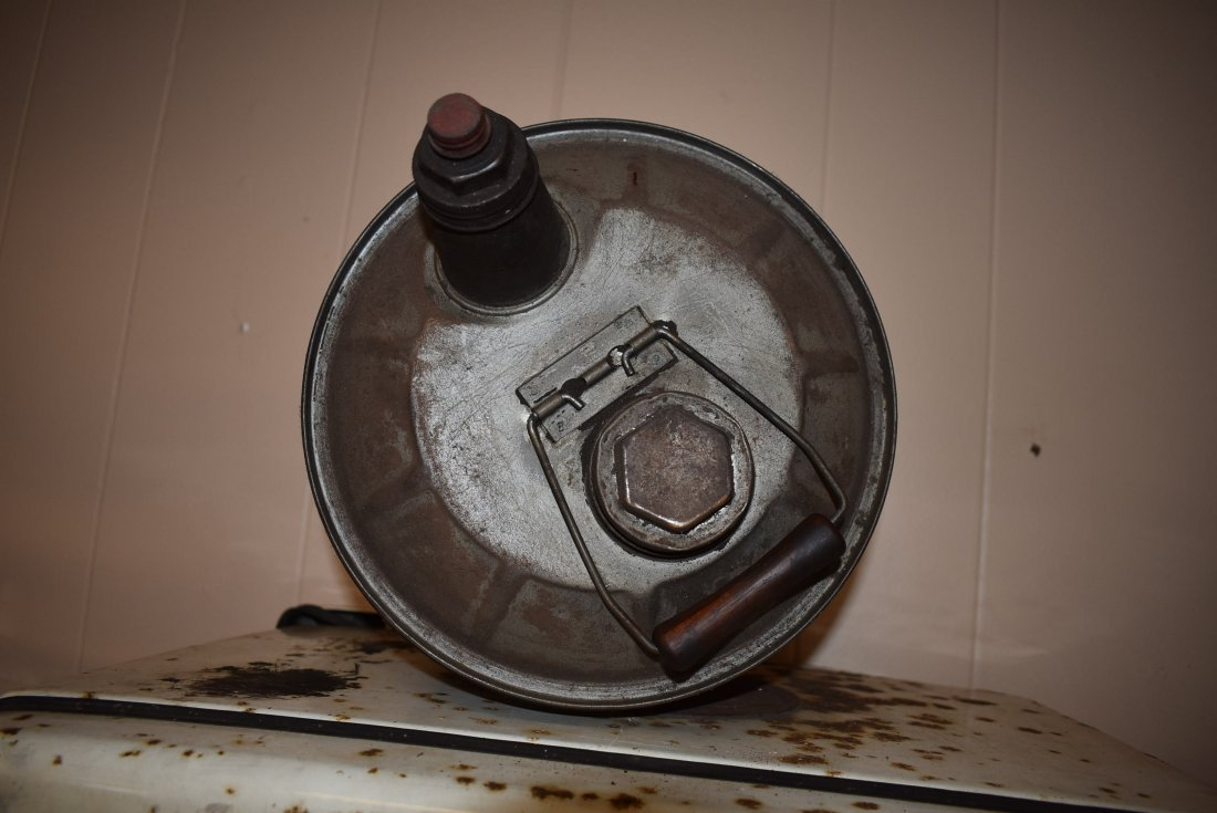 Vintage Standard 5 Gal Oil Can - 3