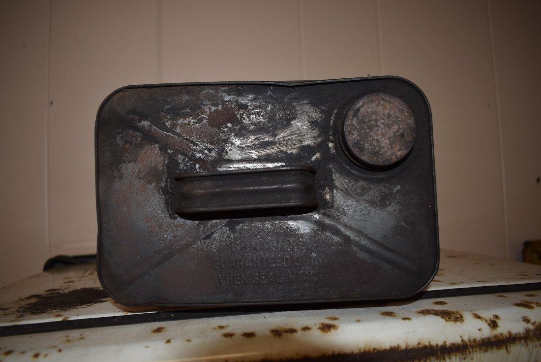 Vintage Big 4 Motor Oil Can - 3