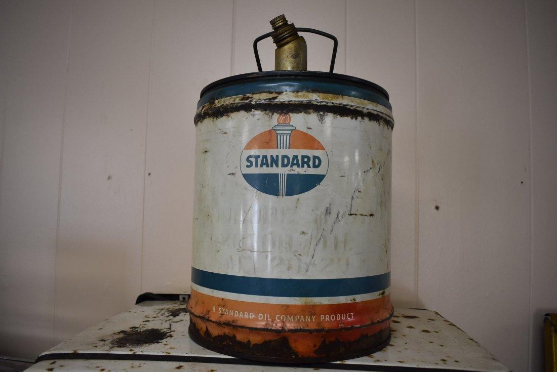 Vintage Standard 5 Gal Oil Can