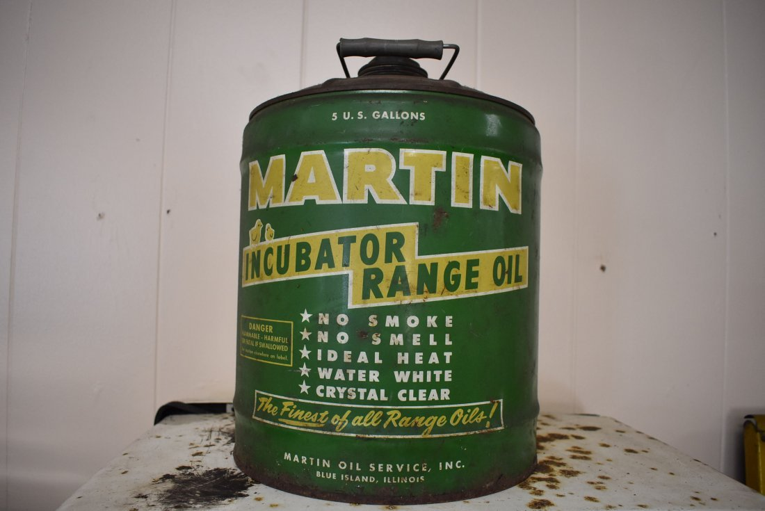 Martin Oil 5 Gallon Can