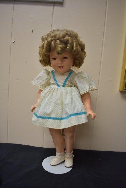 Vintage Ideal Shirley Temple Doll 18""