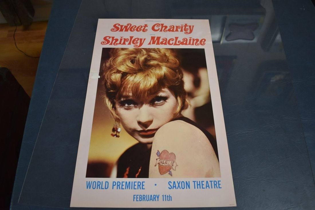 Shirley Maclaine Sweet Charity Poster