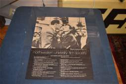 Lot 3 Northwestern Film School Posters 1975