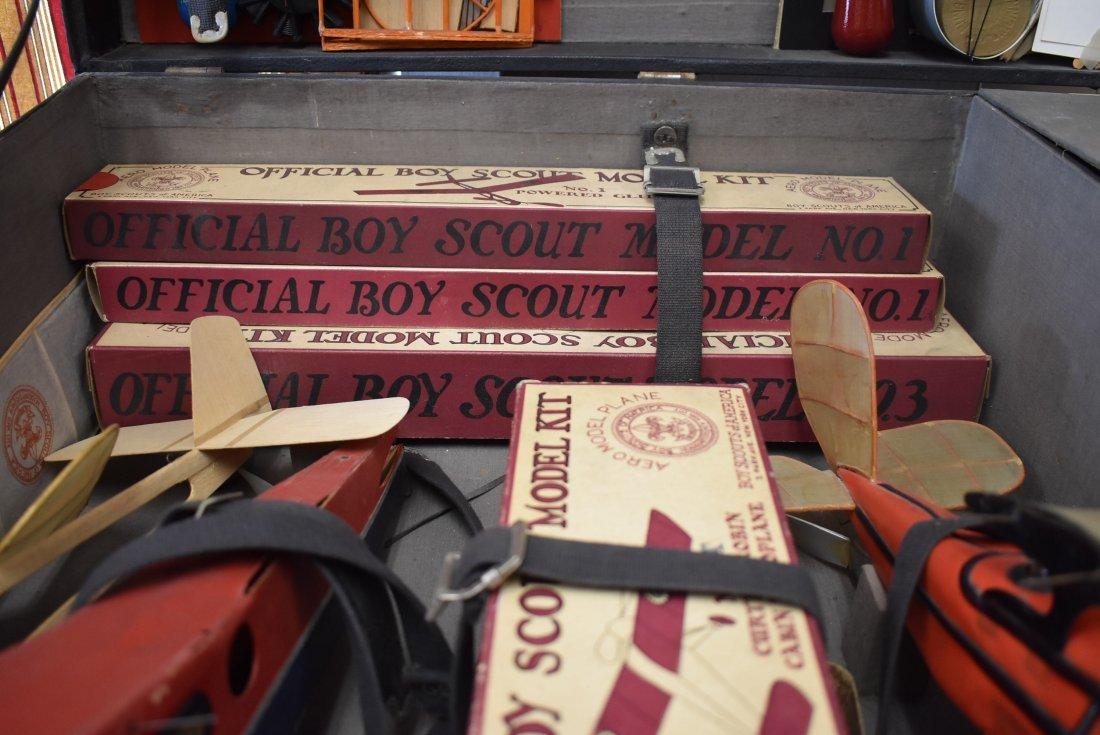 Early Boy Scouts Model Plane Kit RARE - 6