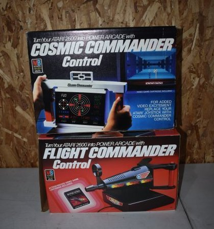 2 Vintage Atari System Accessories