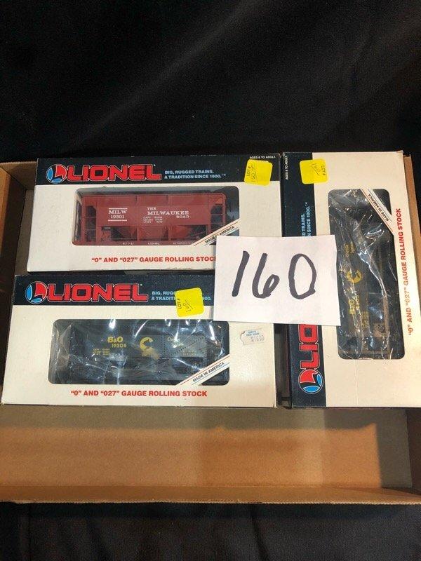 Lionel Train Lot 3pc