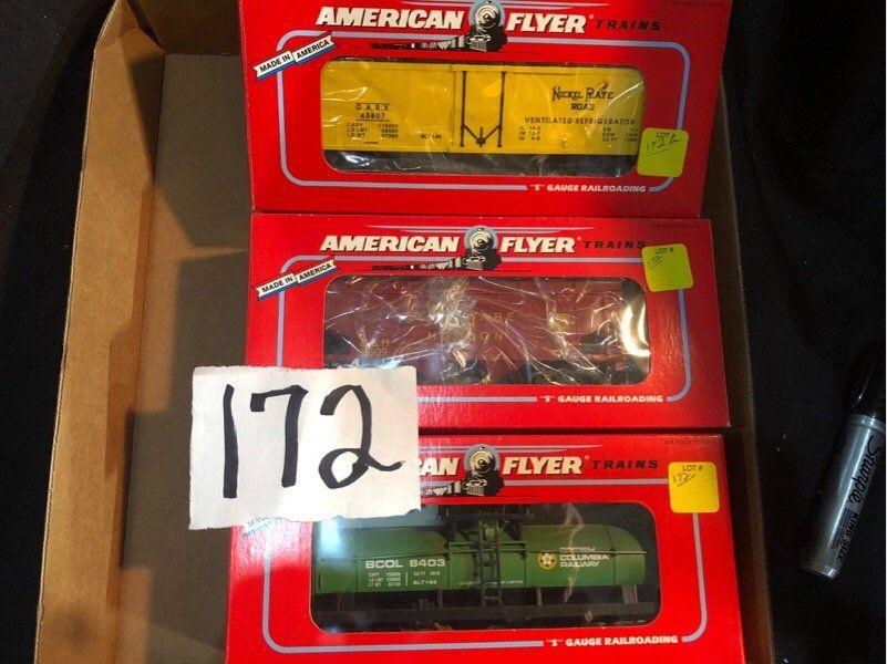 American Flyer Trains Lot S Gauge