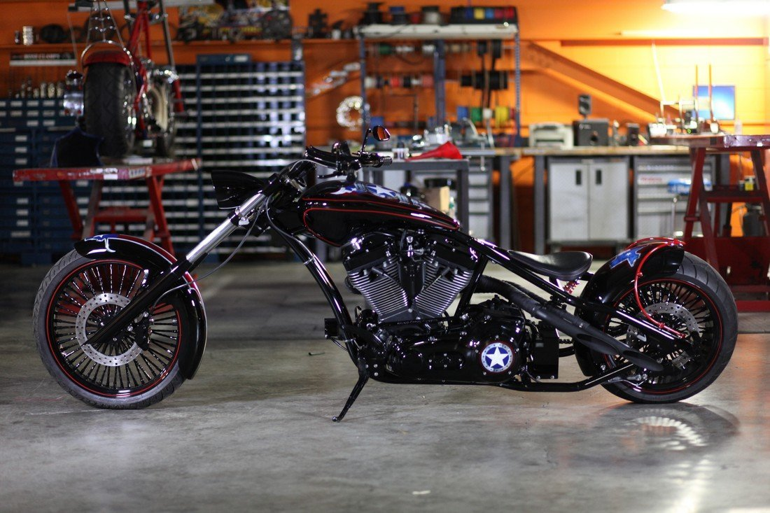 Orange County Choppers - Texas Strong Bike - 2