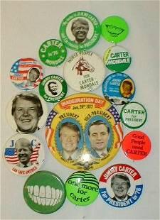 16 Political Items: Jimmy Carter