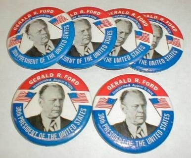 6: 6 Inaugural Buttons: Ford