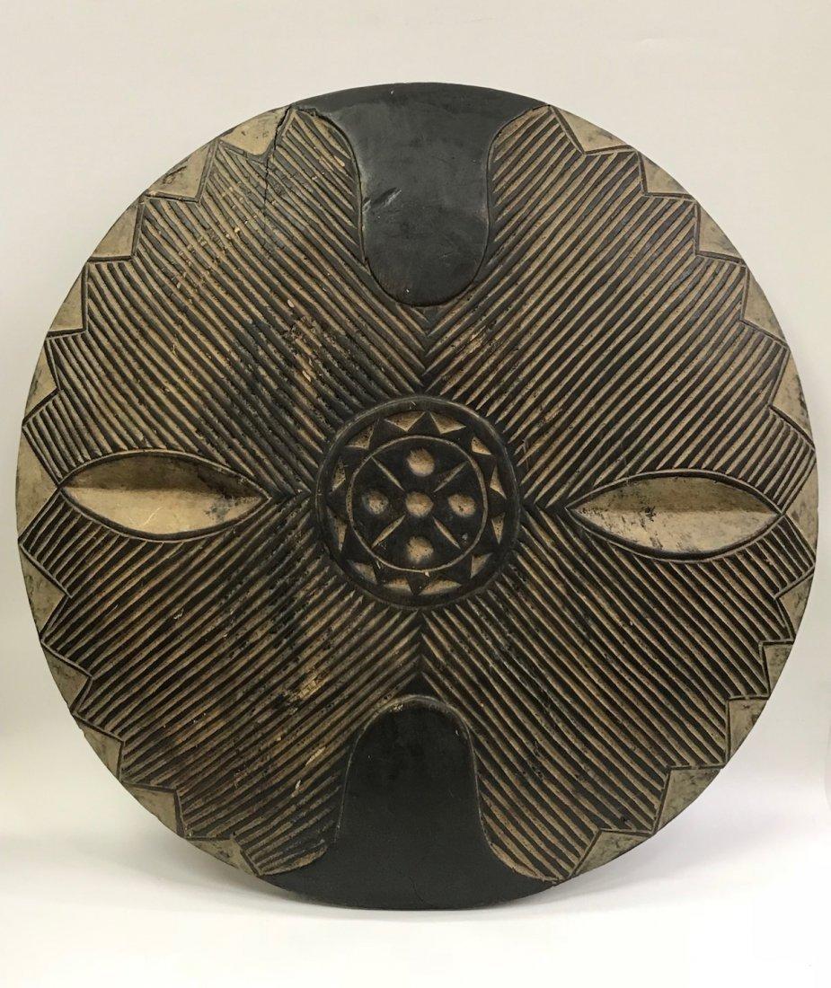 Zulu Round Shield