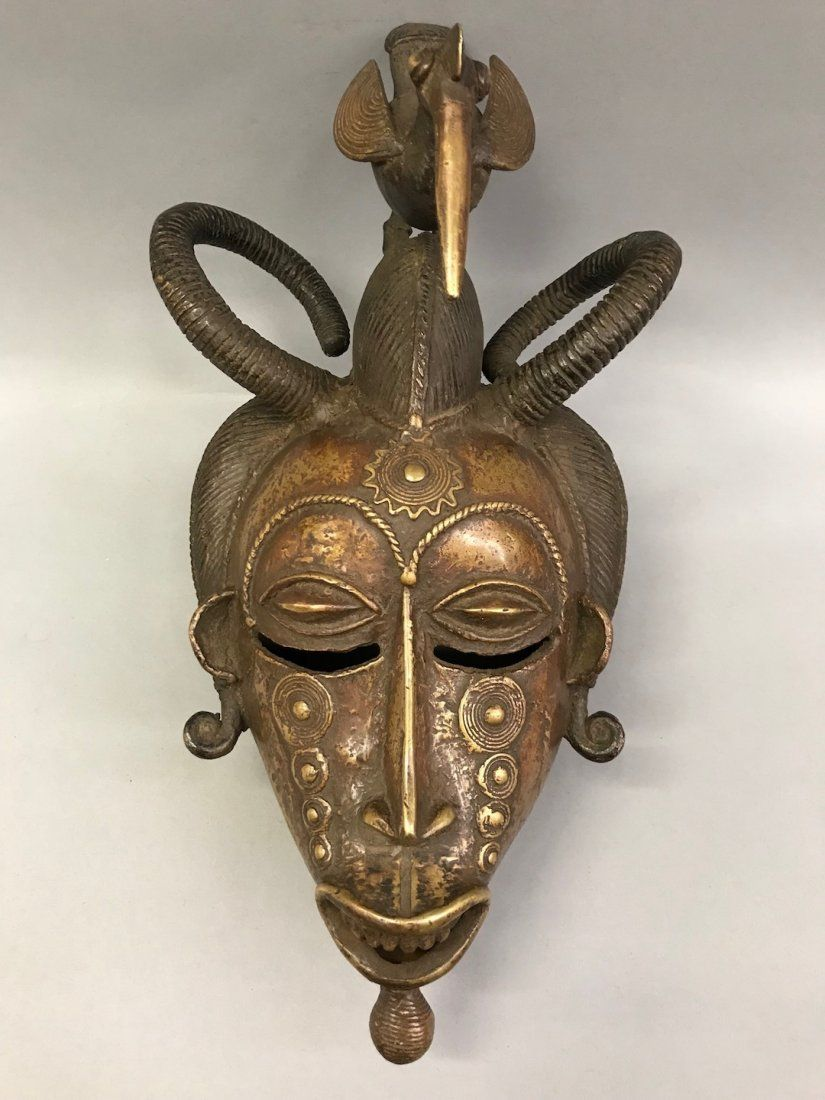 Bronze Senufo Mask