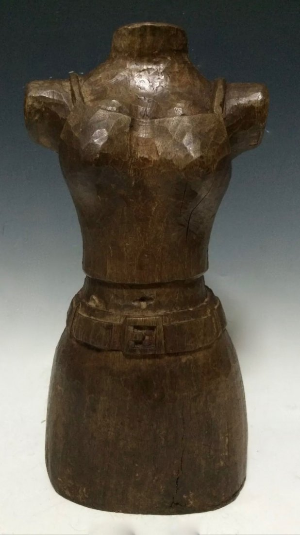 Papermache Mold of Dress Form