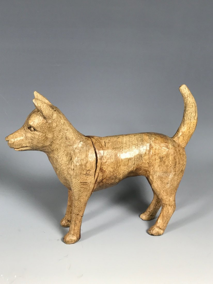 Papermache Mold of Dog