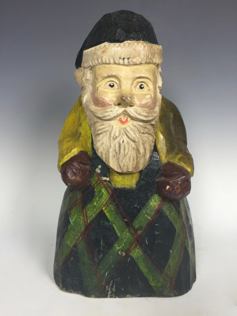 Papermache Mold of Santa Claus
