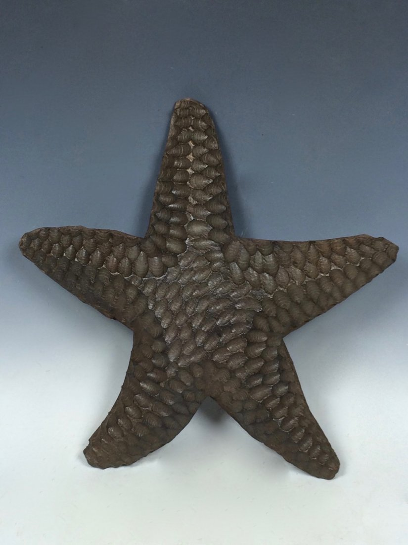 Papermache Mold of Starfish