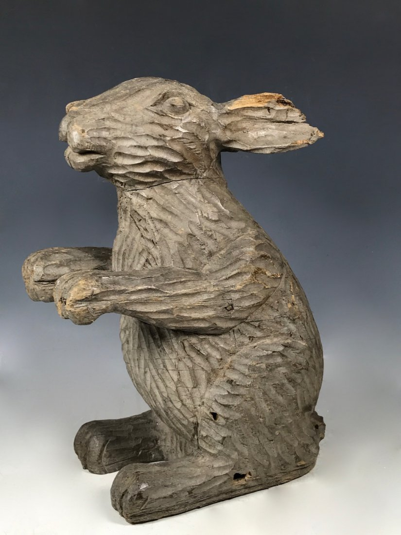 Papermache Mold of Rabbit