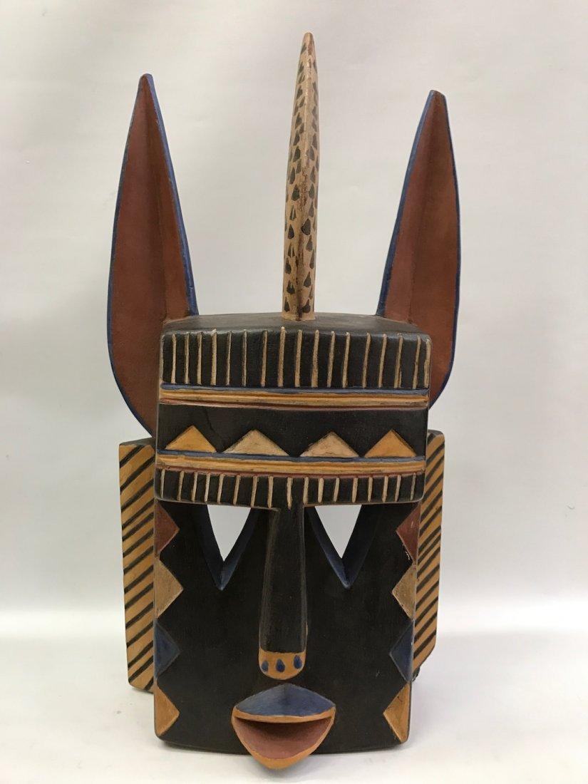 Painted Bozo Mask
