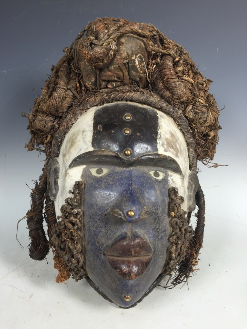 Bacongo Fetish Mask