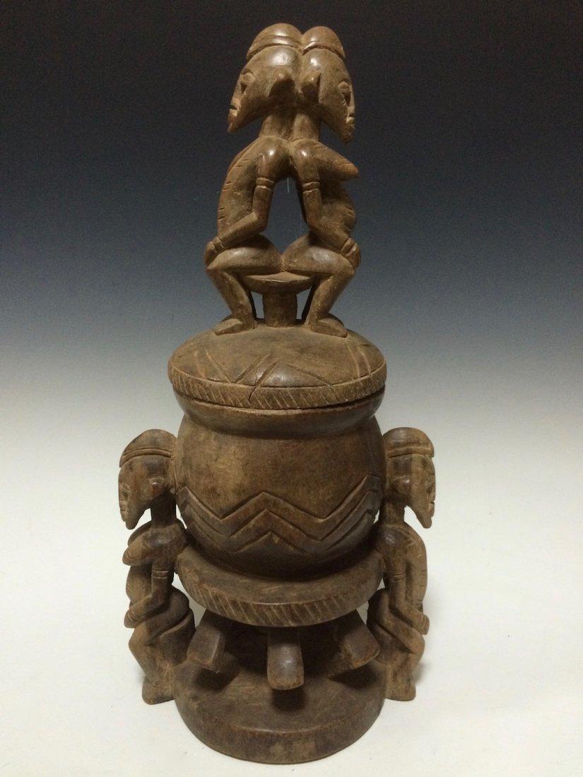Senufo Ritual Medicine Box