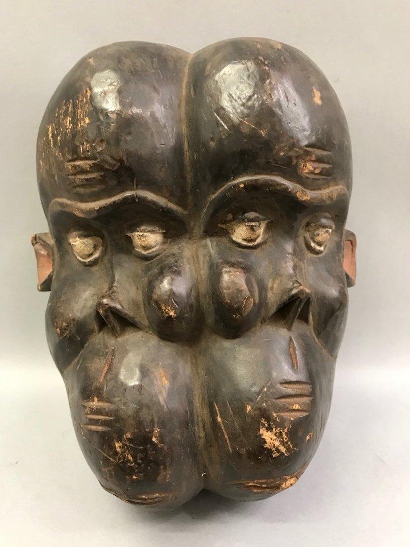 Twin Face Bulu Mask