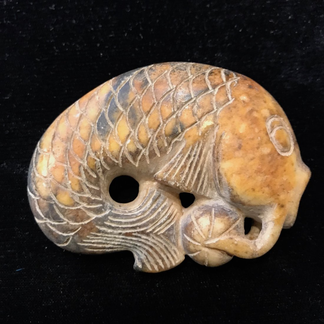 Carved Jade Fish