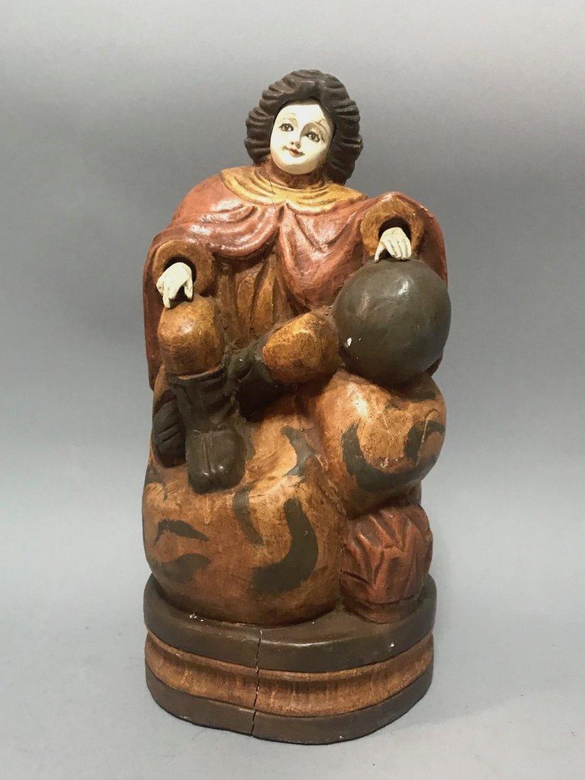 Carved Wood Santo Nino