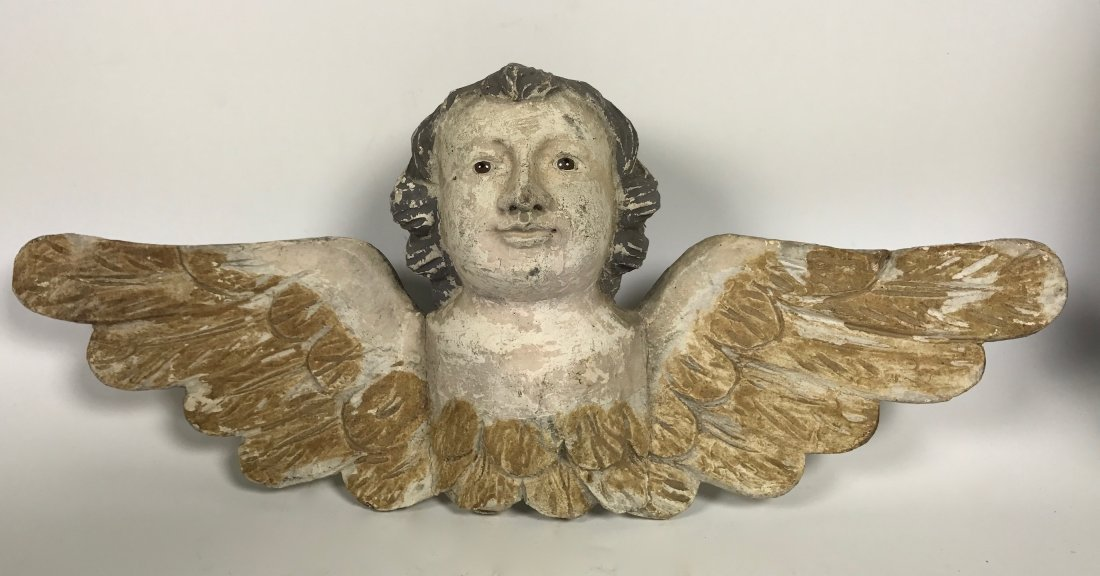 Carved Wood Angel