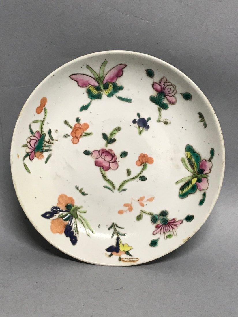 Porcelain Famille Rose Saucer