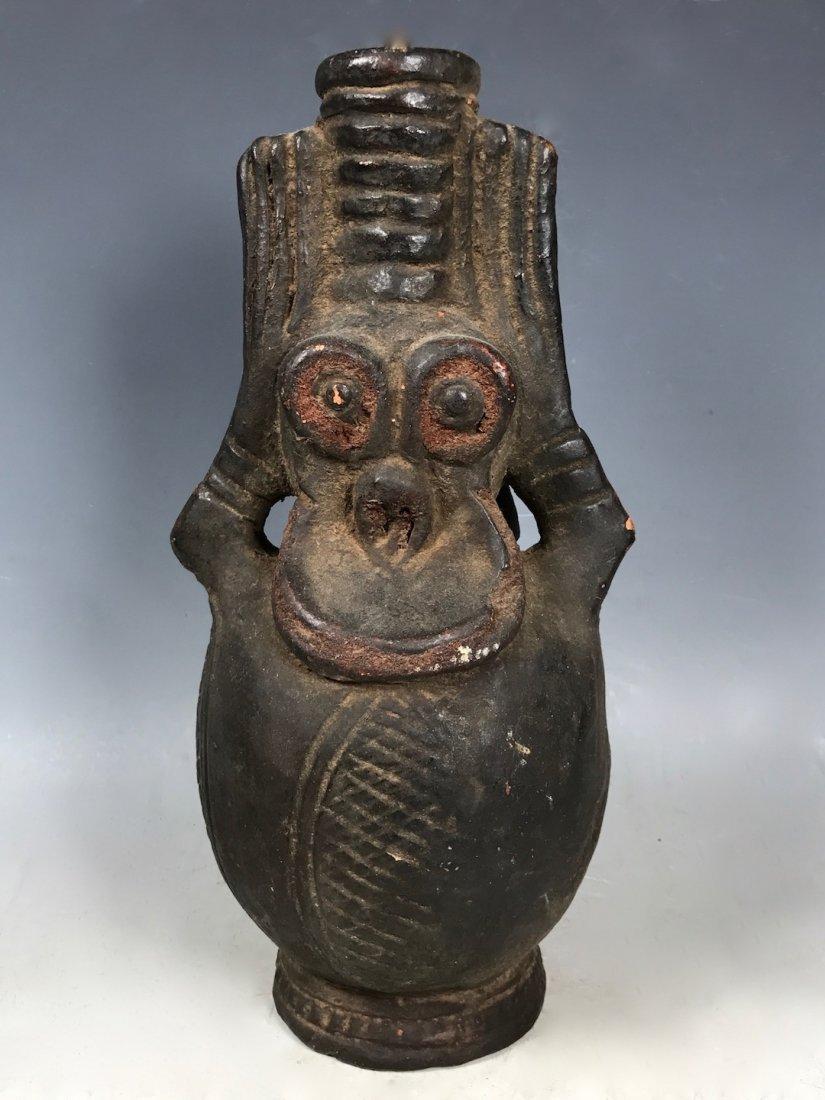 Bamileke Pottery Bottle
