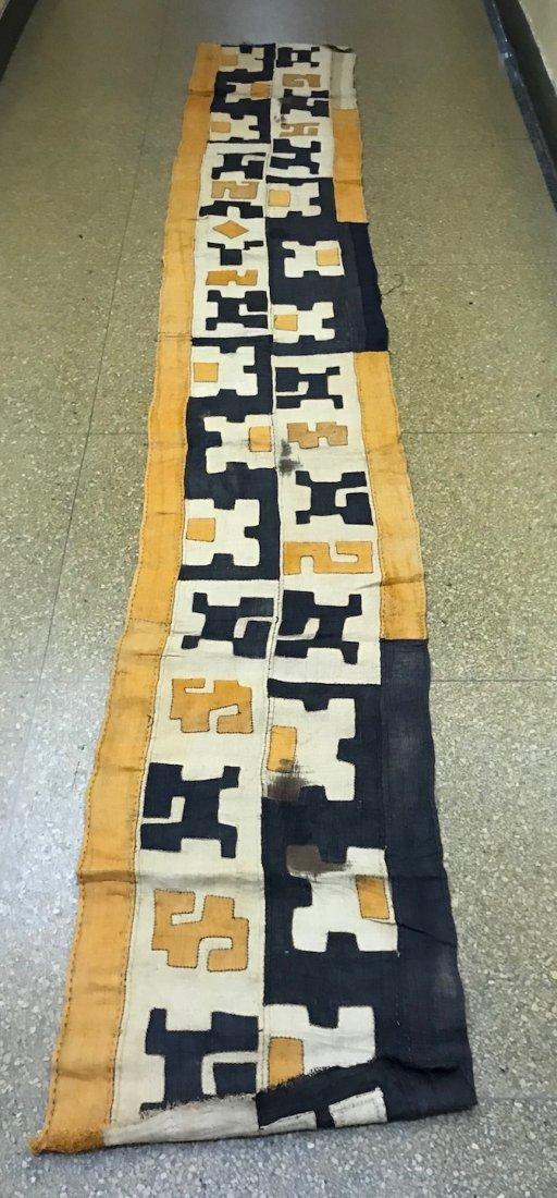 Handwoven Kuba Cloth