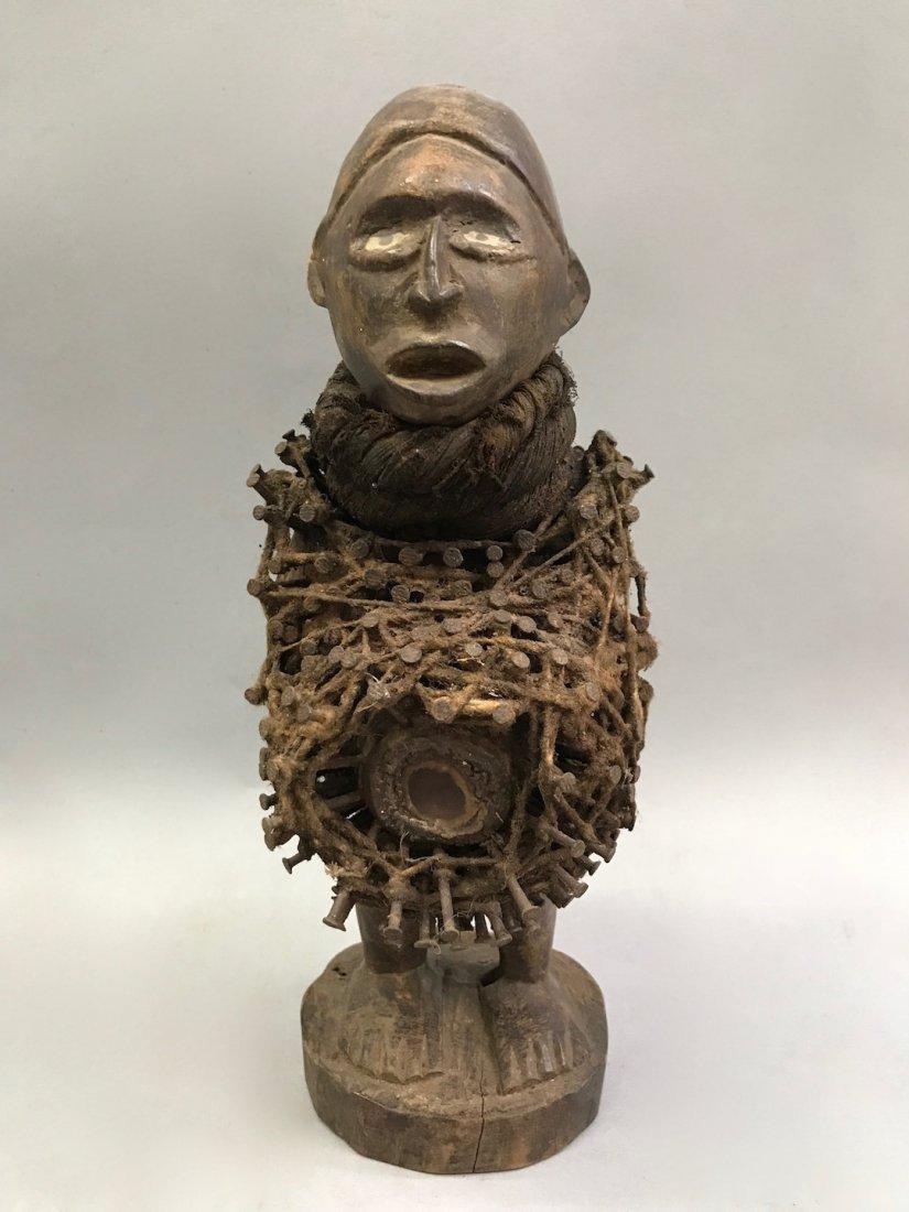Bacongo Fetish Statue