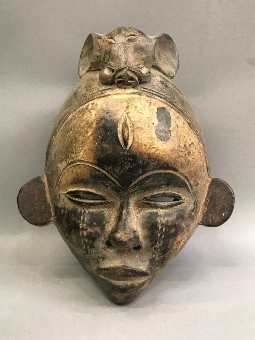 Terra Cotta Yuroba Mask