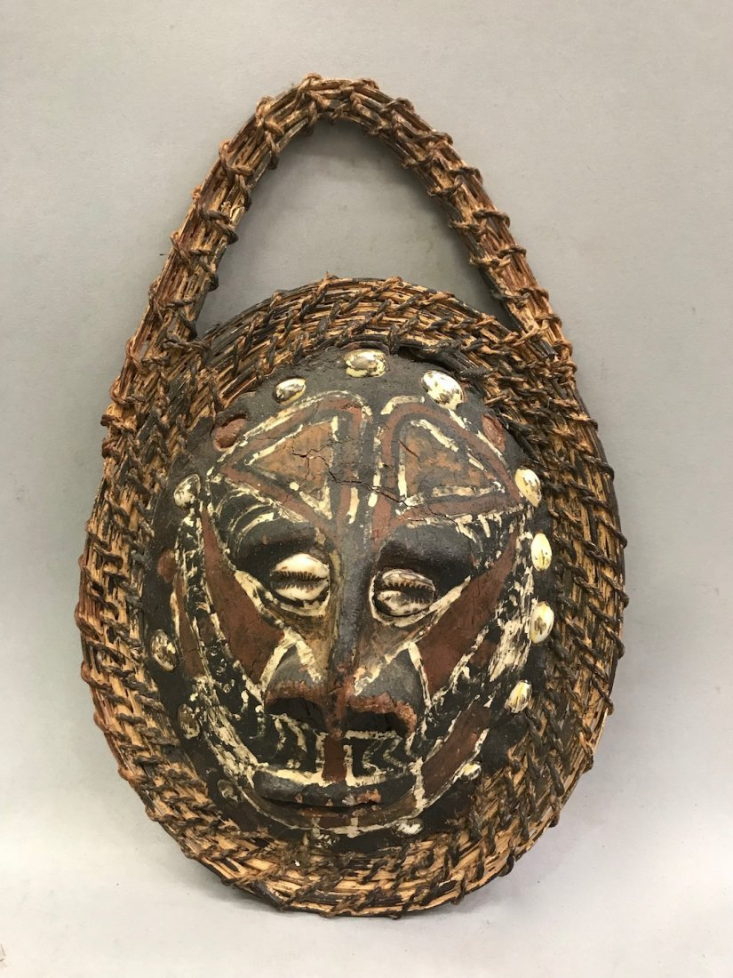 Papua New Guinea Turtle Shell Spirit Mask