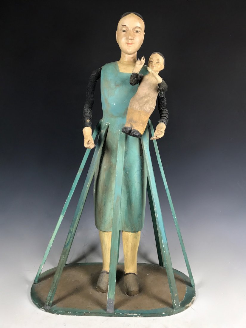 Cage Doll - Mannequin with Baby