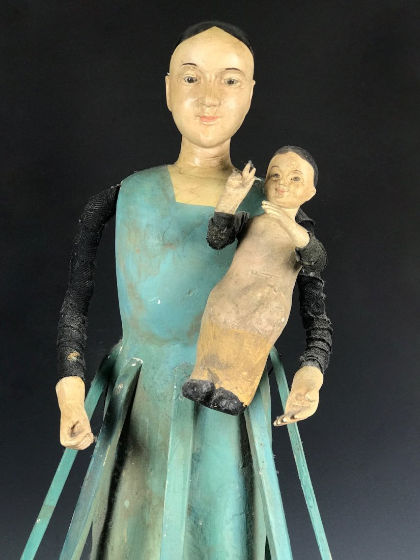 Cage Doll - Mannequin with Baby - 2