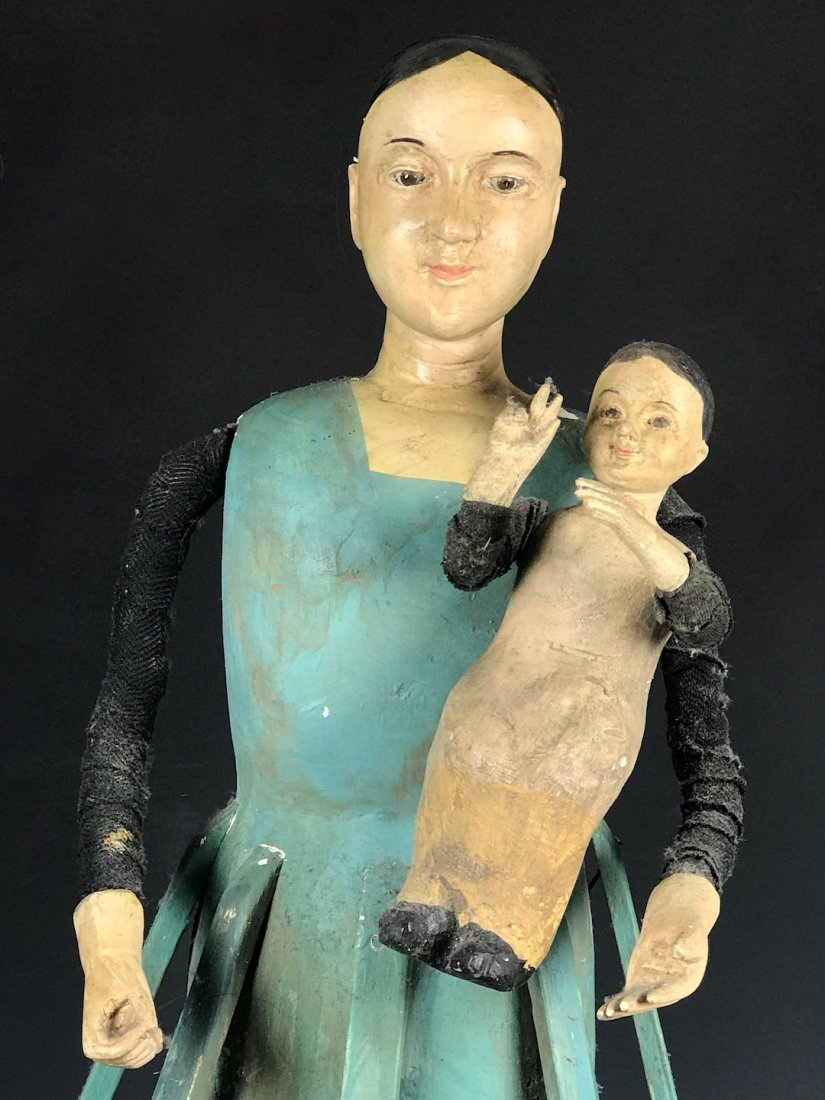 Cage Doll - Mannequin with Baby - 3