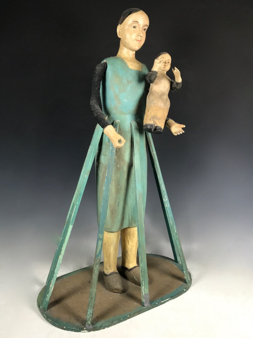 Cage Doll - Mannequin with Baby - 5