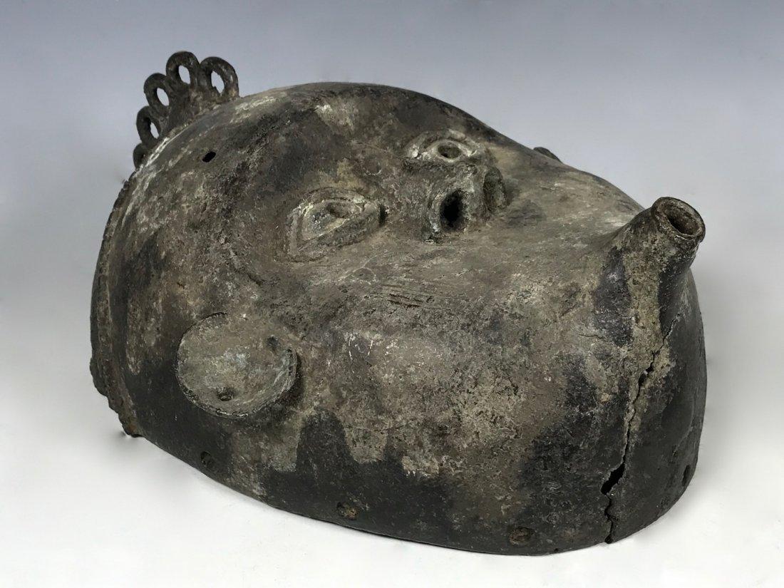 Benin Bronze Mask - 5
