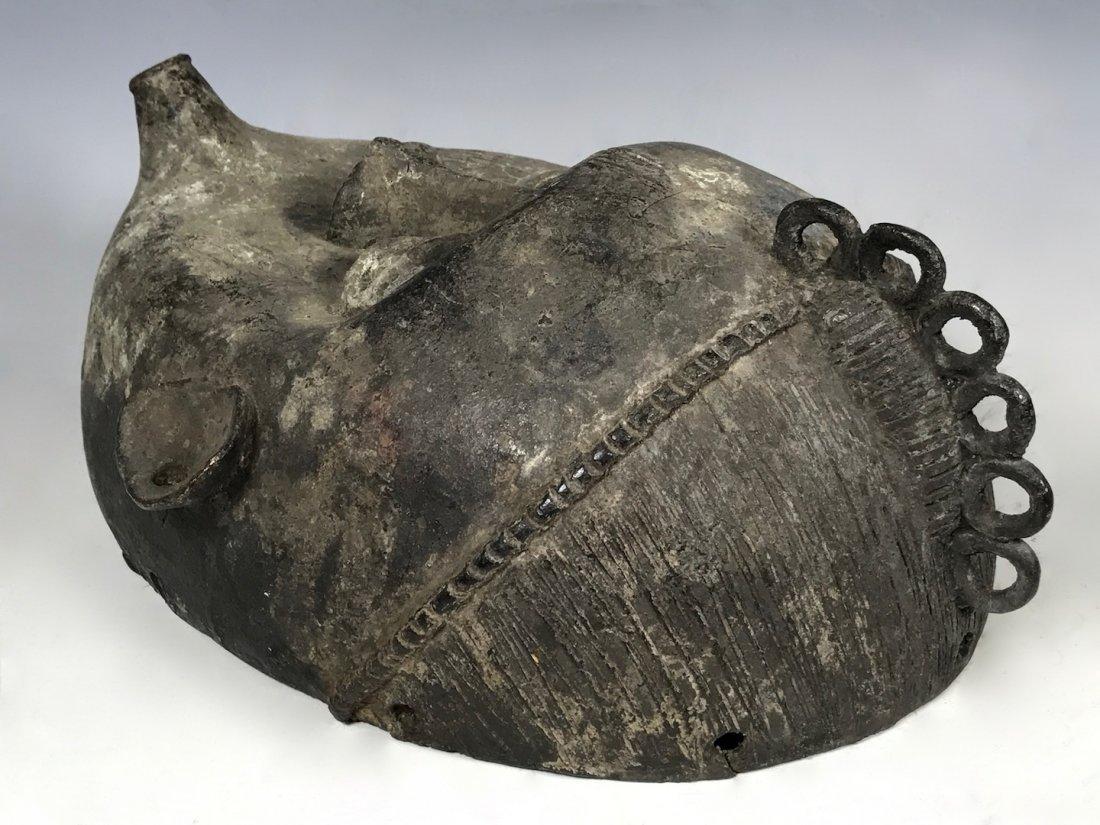 Benin Bronze Mask - 7