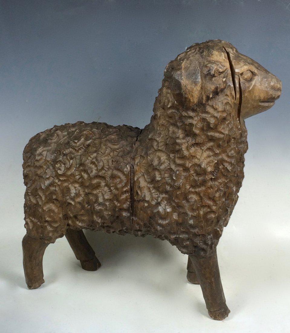 Lamb Paper Mache Mold/Pattern - 3